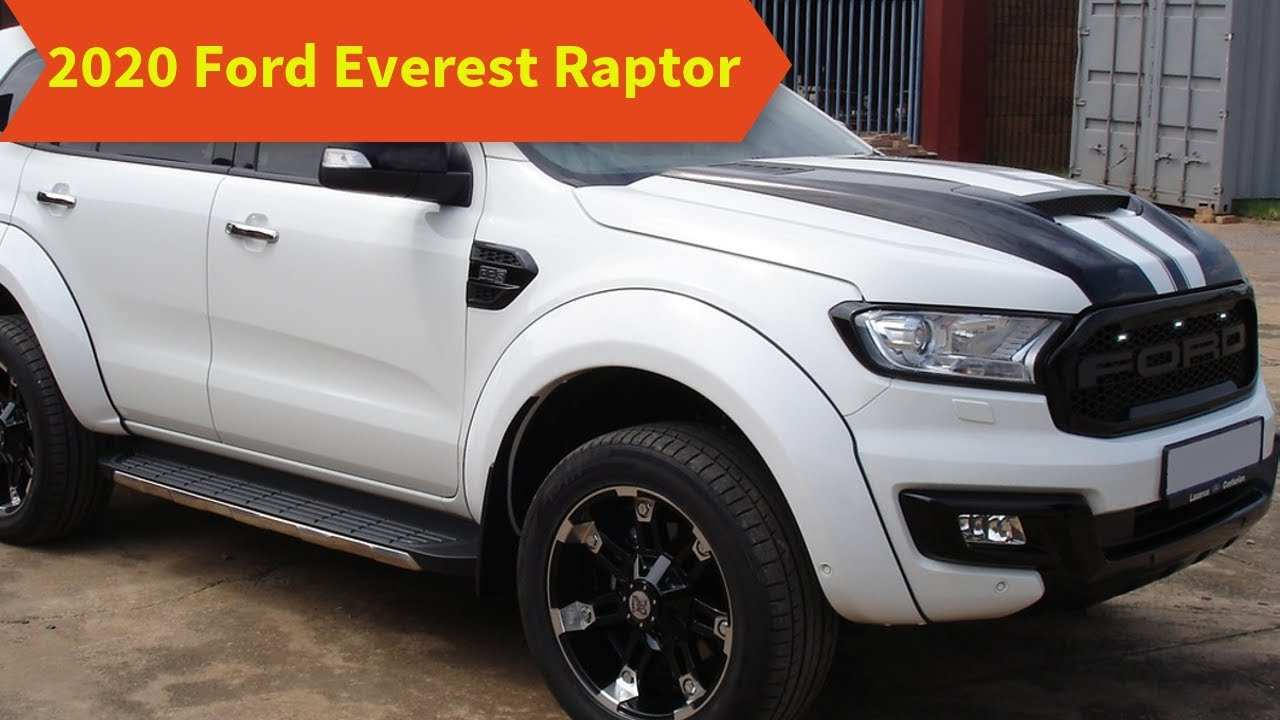 56 All New 2020 Ford Everest Style