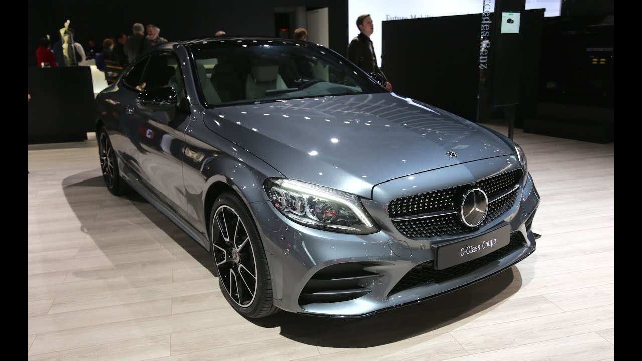 56 All New Mercedes C Class Coupe 2019 Spesification