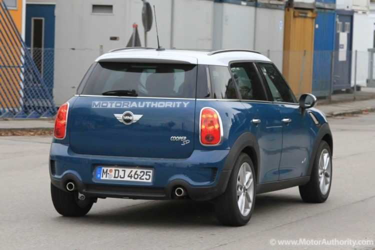 56 All New Spy Shots Mini Countryman Model