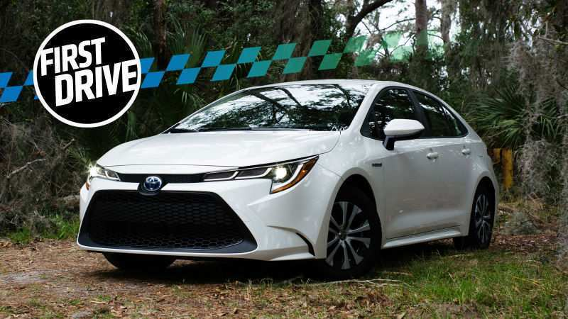 56 All New Toyota Corolla Hybrid 2020 Concept