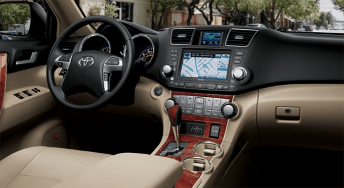 56 All New Toyota Kluger 2020 Interior History