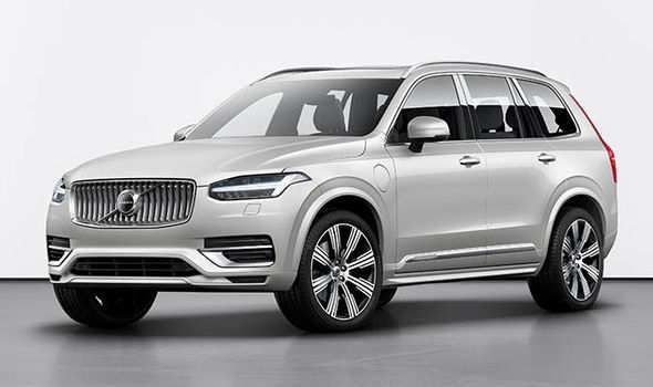 56 All New Volvo Xc60 2020 Uk Spy Shoot