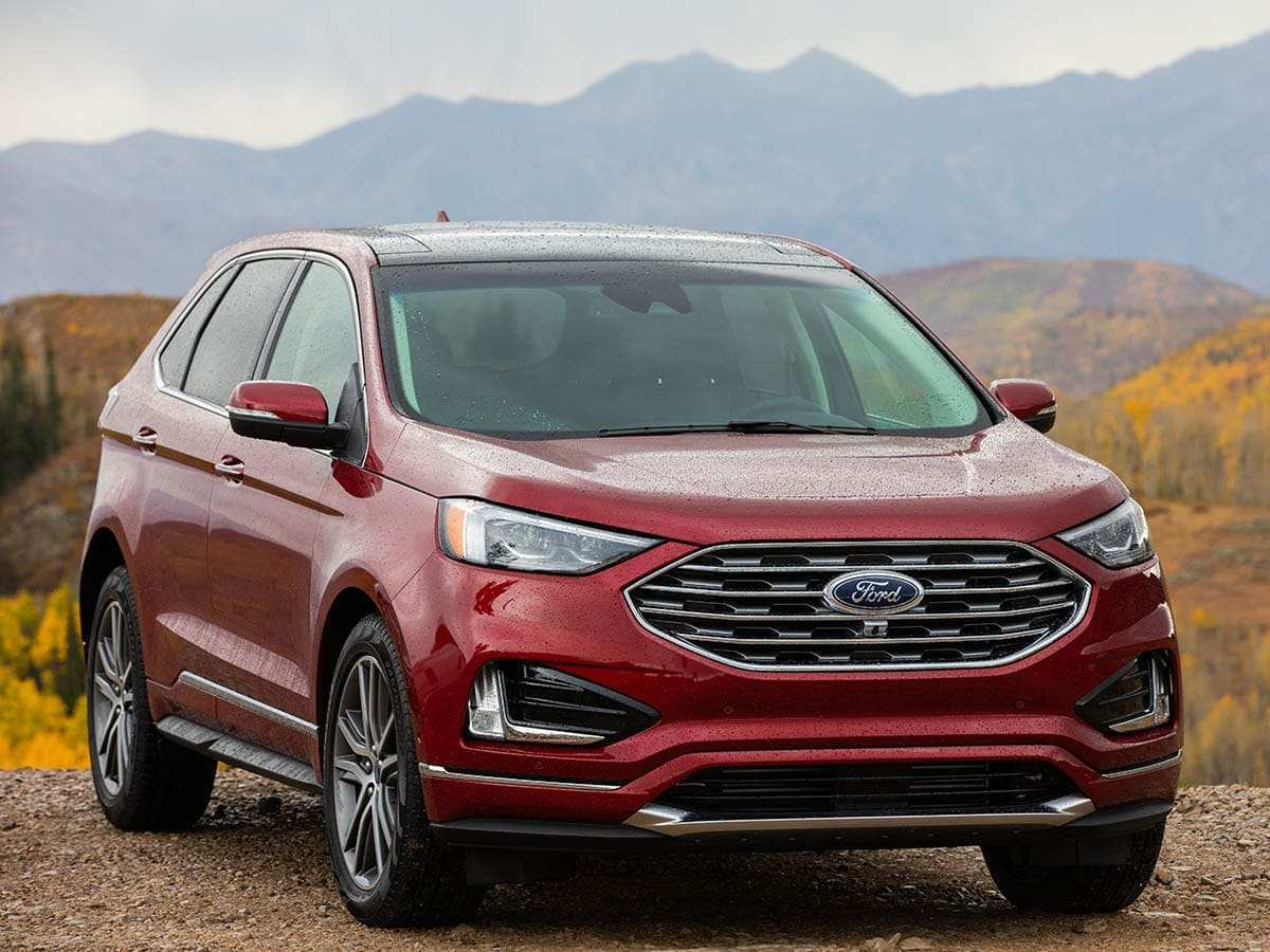 56 Best 2019 Ford Edge New Design Redesign And Concept