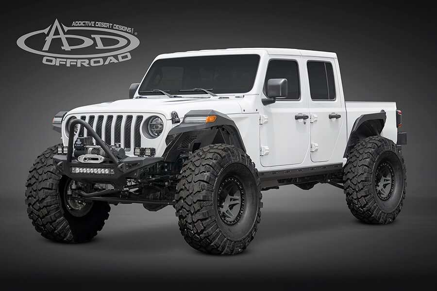 56 Best 2020 Jeep Gladiator Aftermarket Parts Concept And Review