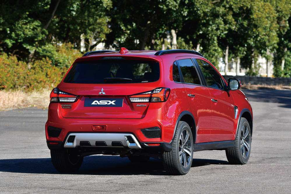 56 Best 2020 Mitsubishi Asx Redesign And Concept