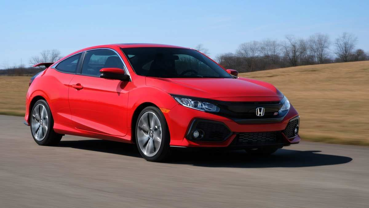 56 New 2020 Honda Civic Si Spy Shoot