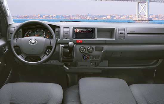 56 New 2020 Toyota Hiace Interior