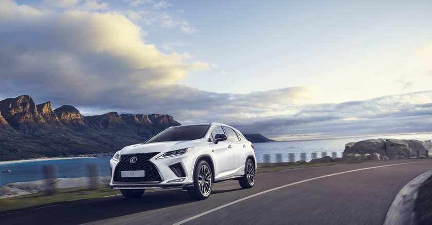 56 New Lexus Canada 2020 Spy Shoot