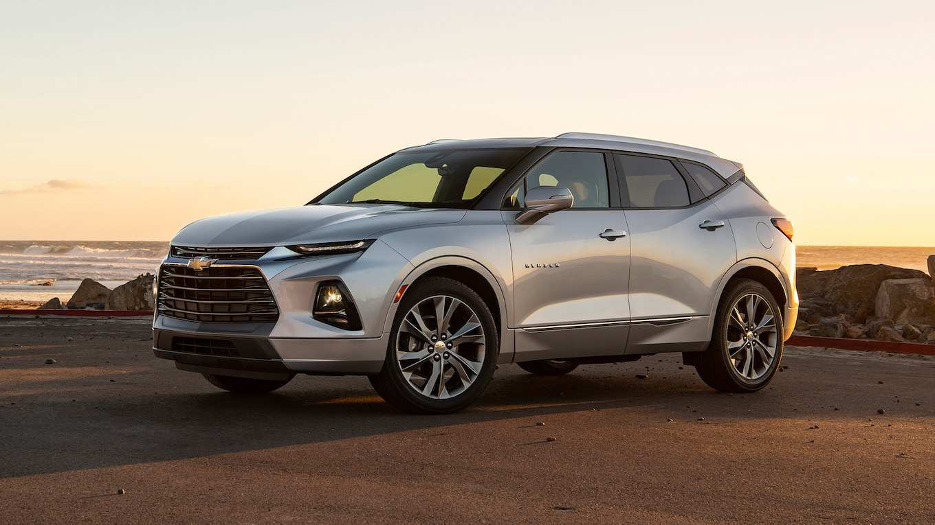 56 The 2019 Chevy Blazer Images