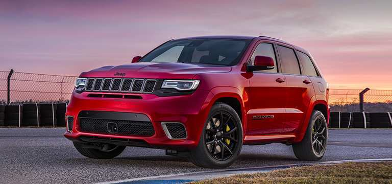 56 The 2019 Jeep Grand Cherokee Trackhawk Pictures