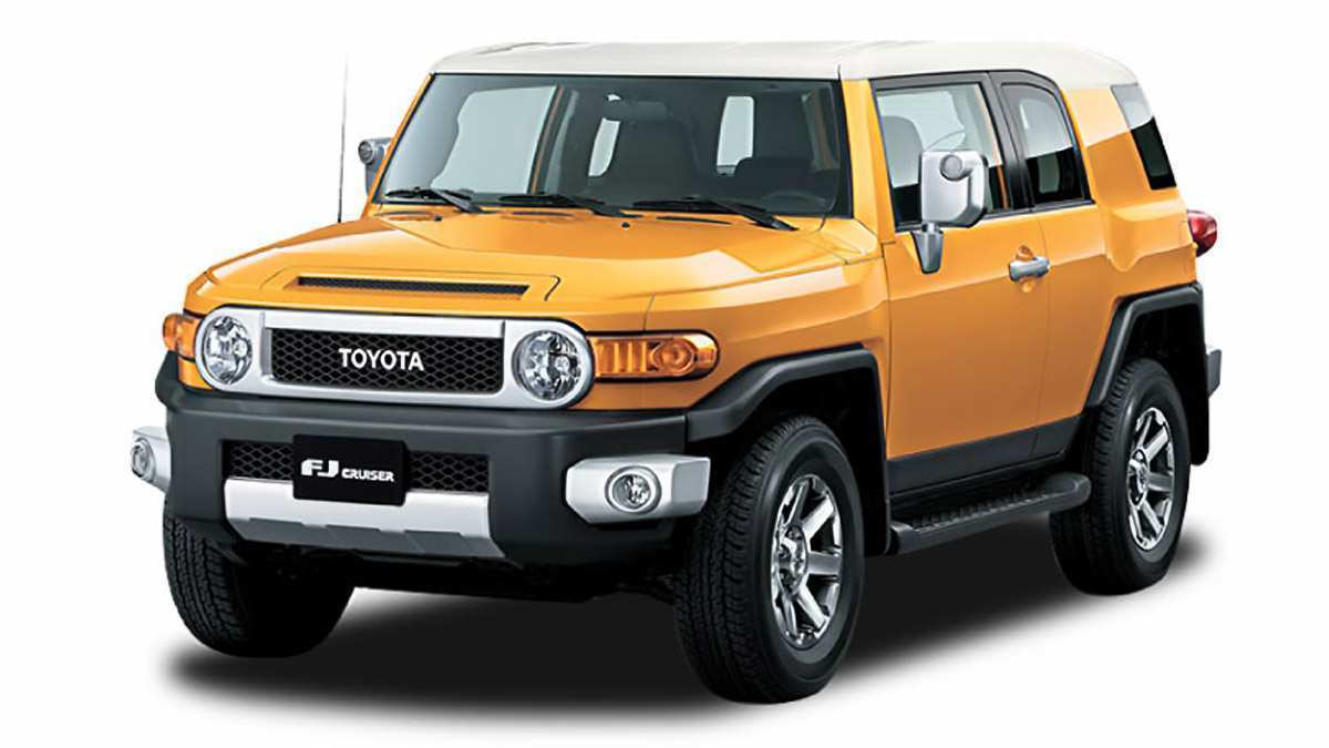 56 The 2019 Toyota FJ Cruiser Release Date And Concept