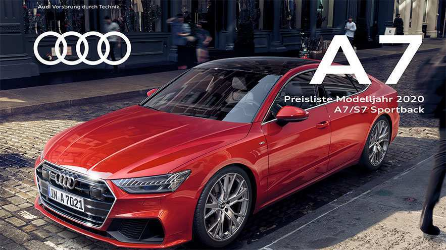 56 The 2020 Audi A7 Ratings