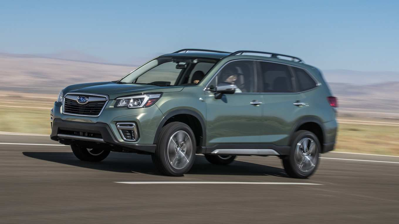 56 The Best 2019 Subaru Forester Mpg New Model And Performance