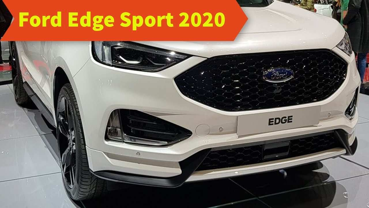 56 The Best 2020 Ford Edge Sport Reviews