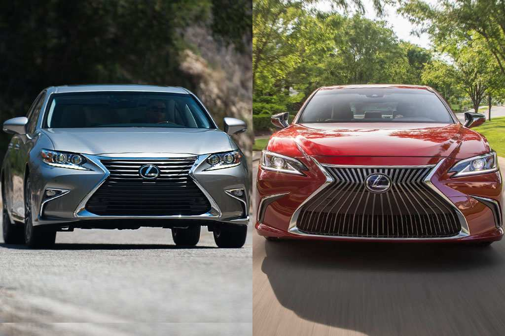 56 The Best Lexus Es 2019 Vs 2018 Redesign And Review