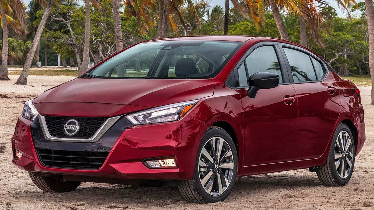 56 The Best Nissan Versa 2020 Release Date