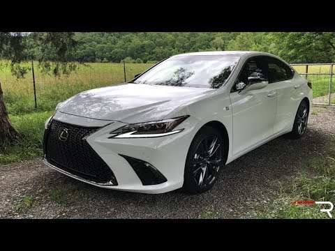 57 A 2019 Lexus Es 350 F Sport Spy Shoot