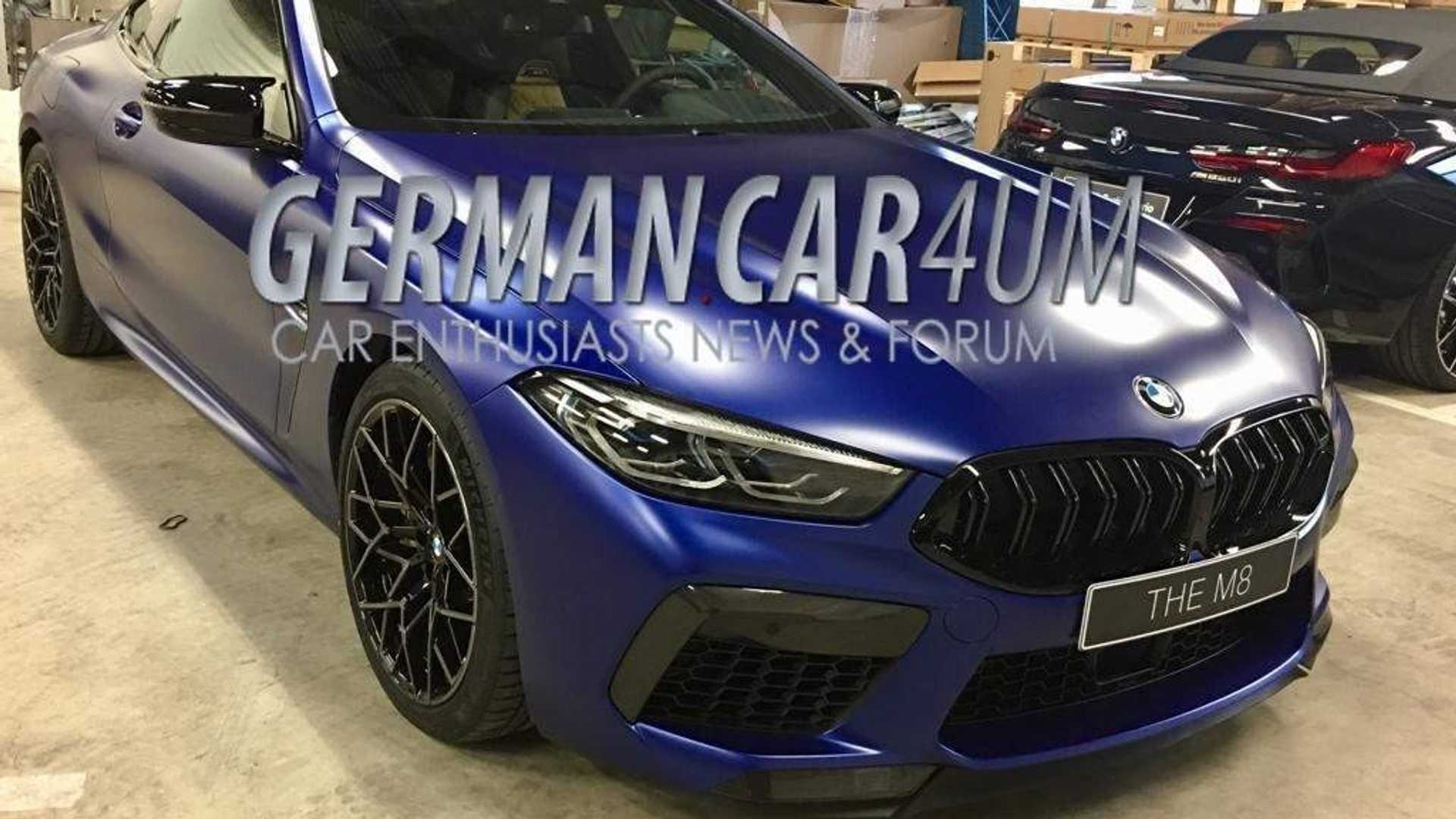 57 A 2020 BMW M8 Release