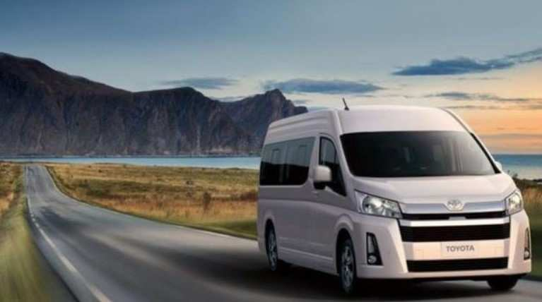 57 A 2020 Toyota Hiace Model