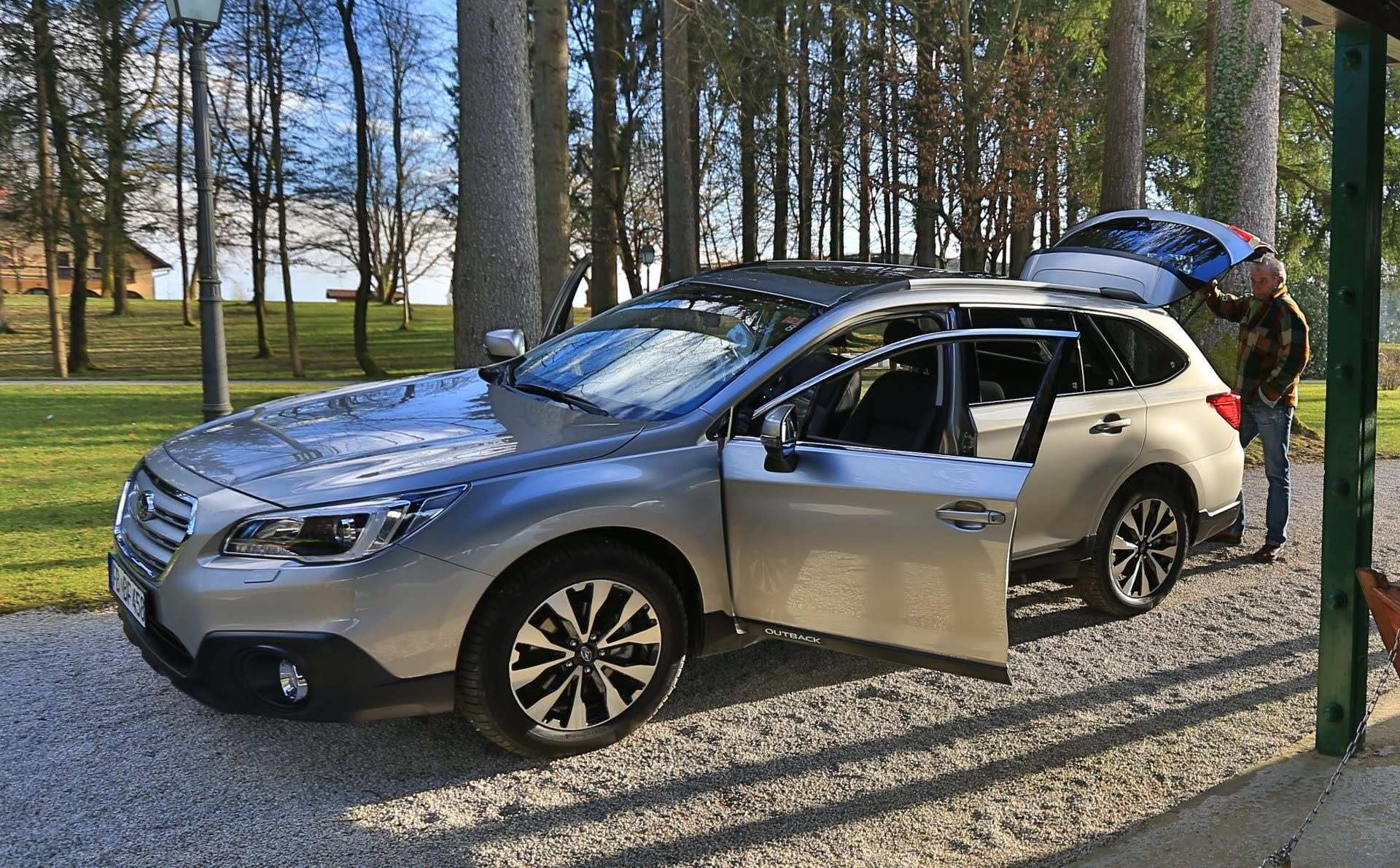57 A Subaru Outback 2020 Uk Redesign