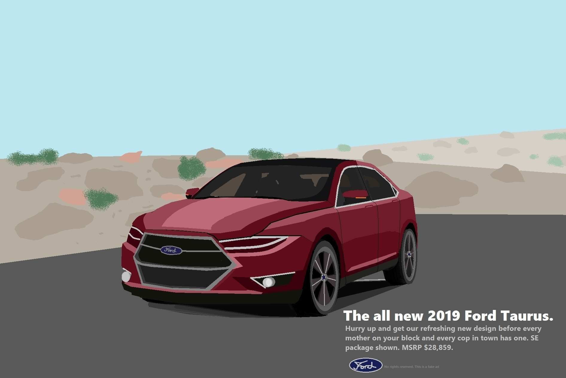 57 All New 2019 Ford Taurus Spy Picture