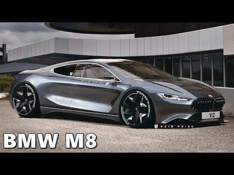 57 All New 2020 BMW M8 New Concept