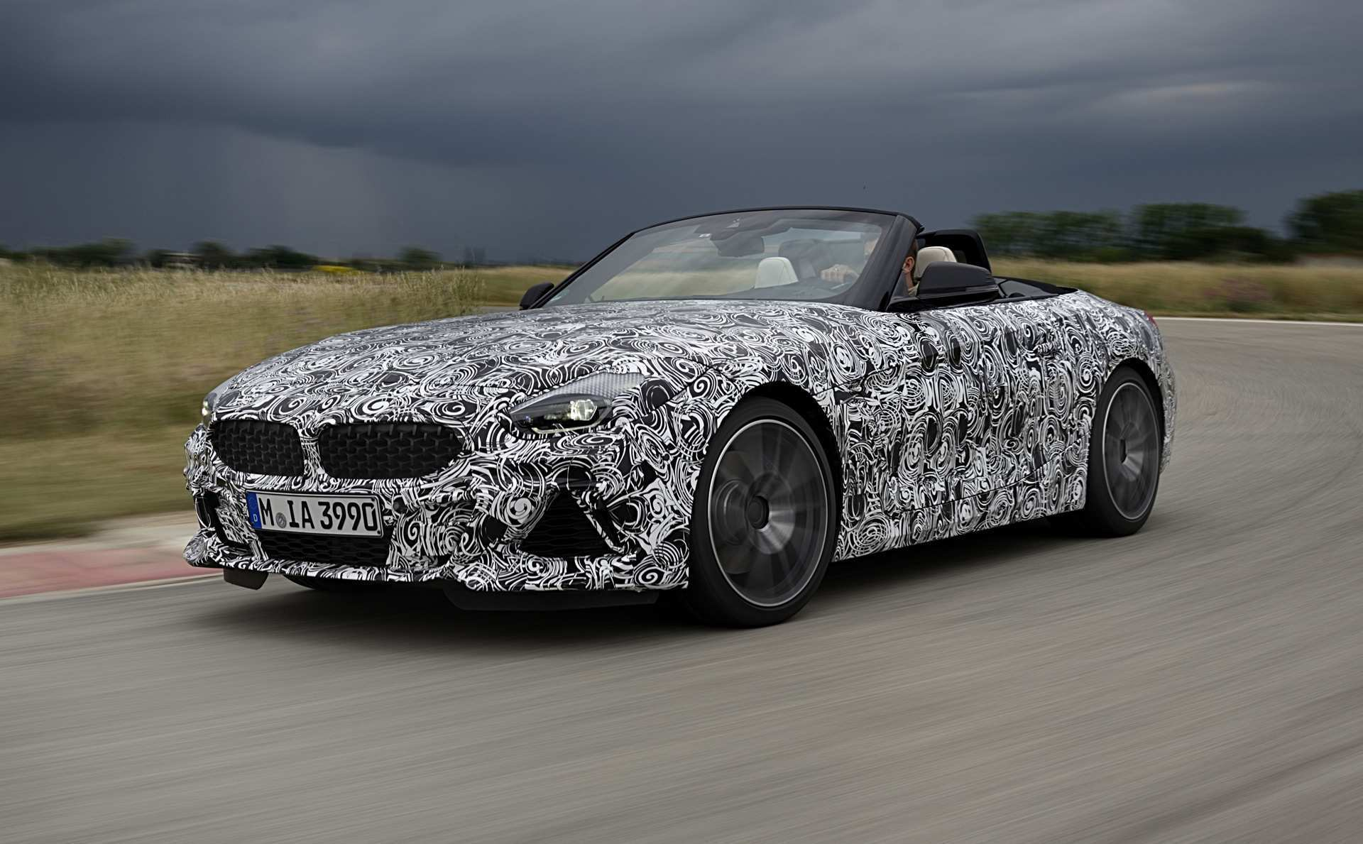 57 All New 2020 BMW Z4 M Roadster Spy Shoot