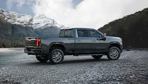 57 All New 2020 GMC 2500Hd Model