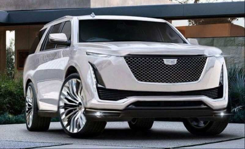 57 Best 2020 Cadillac Escalade White Exterior And Interior