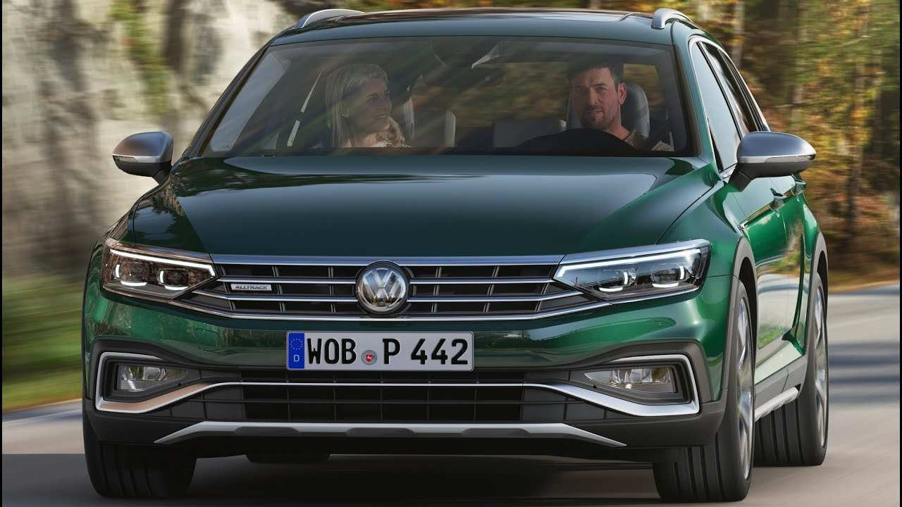 57 Best 2020 Vw Passat Alltrack Release Date And Concept
