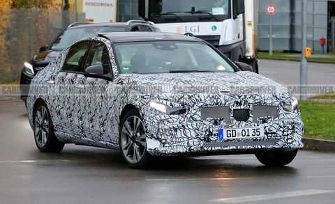 57 New 2020 Mercedes Benz C Class Spy Shoot