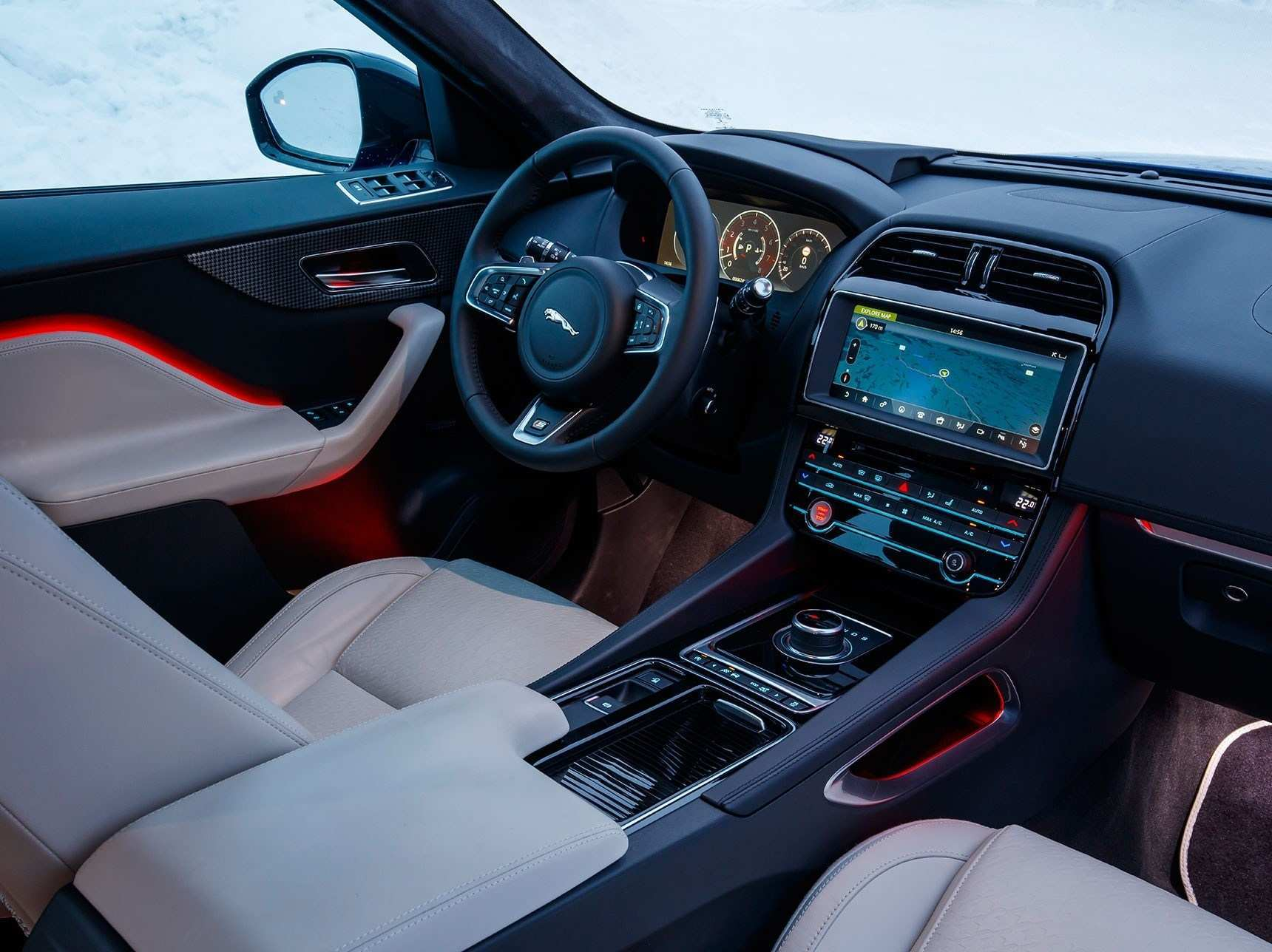57 New Jaguar F Pace 2019 Interior Interior