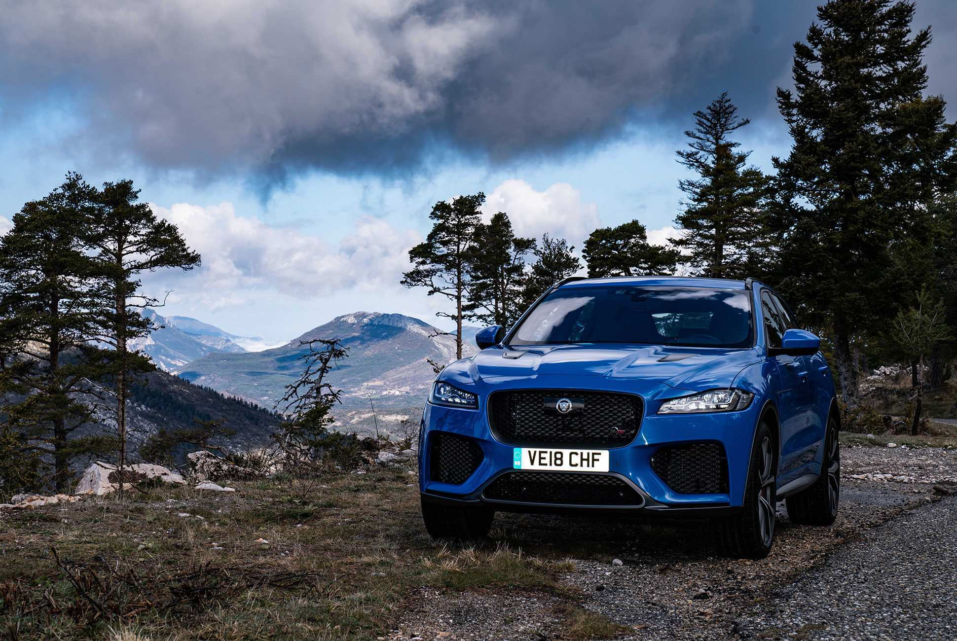 57 The 2019 Jaguar F Pace Svr New Concept