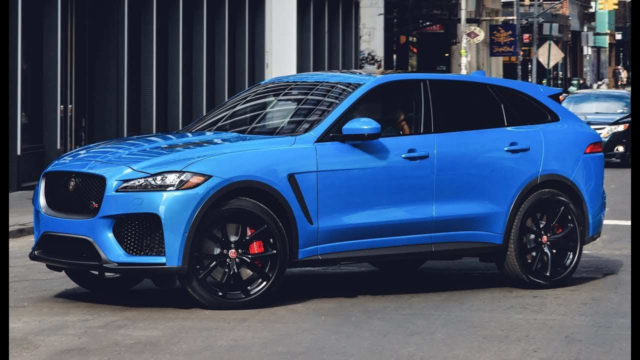 57 The 2019 Jaguar F Pace Svr Spy Shoot