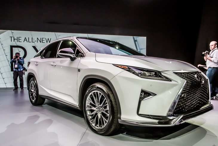 57 The Best 2020 Lexus Rx 350 F Sport Suv Concept And Review