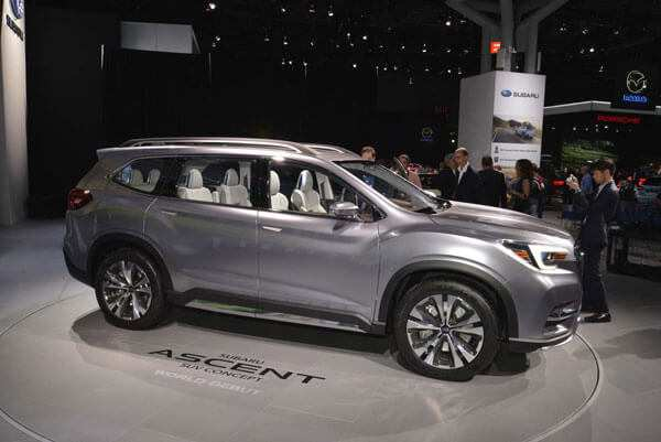 57 The Best 2020 Subaru Ascent Release Date First Drive