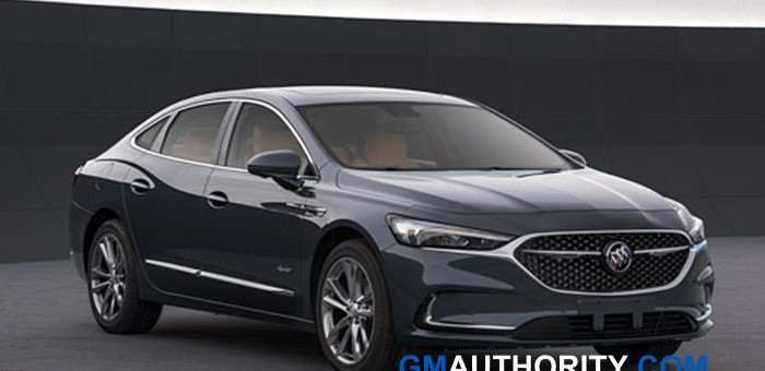57 The Buick Avenir 2020 New Review