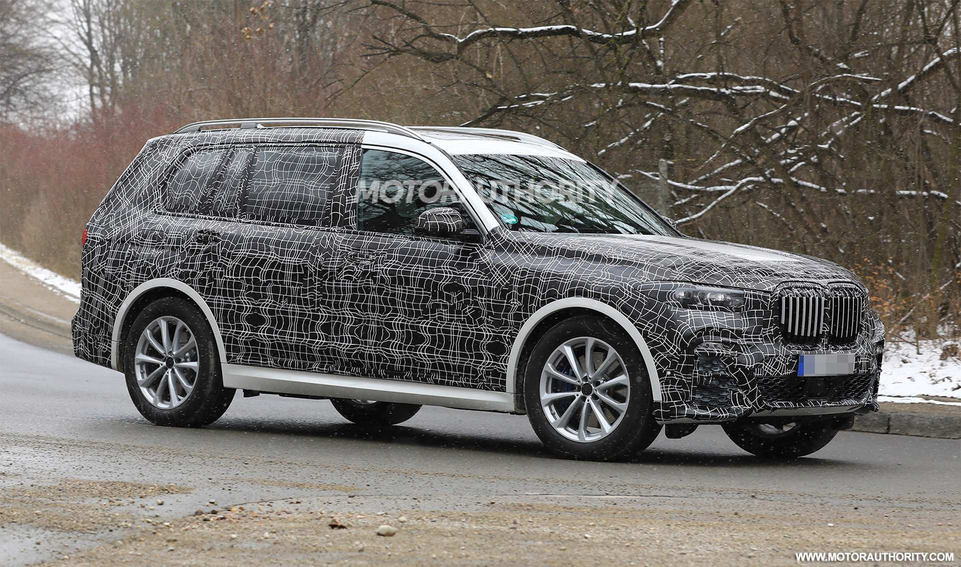 58 A 2019 BMW X7 Suv Series New Concept