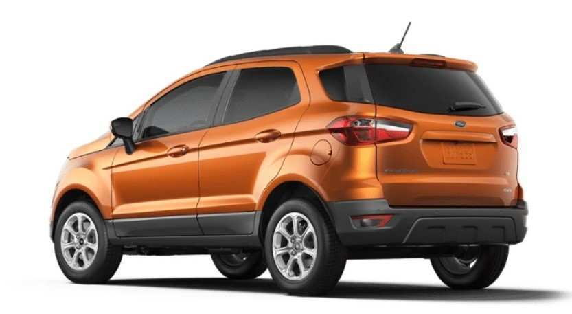 58 A 2020 Ford Ecosport Price Design And Review