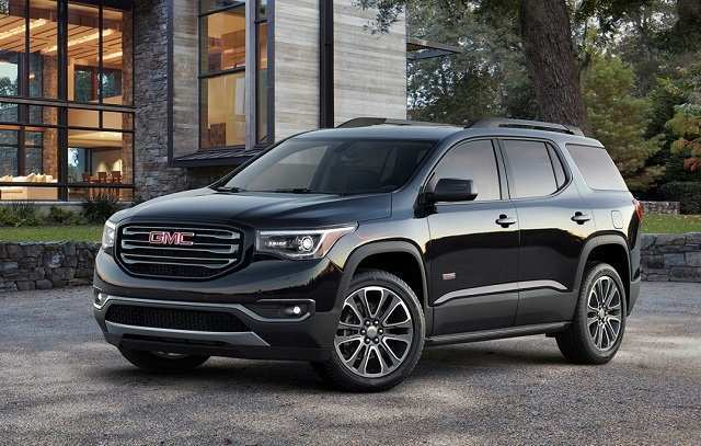 58 A 2020 GMC Acadia Spesification