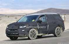 58 A 2020 Honda Pilot Spy Photos Engine