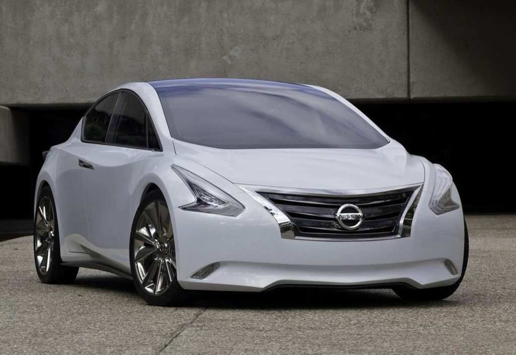 58 A 2020 Nissan Maxima Detailed Interior