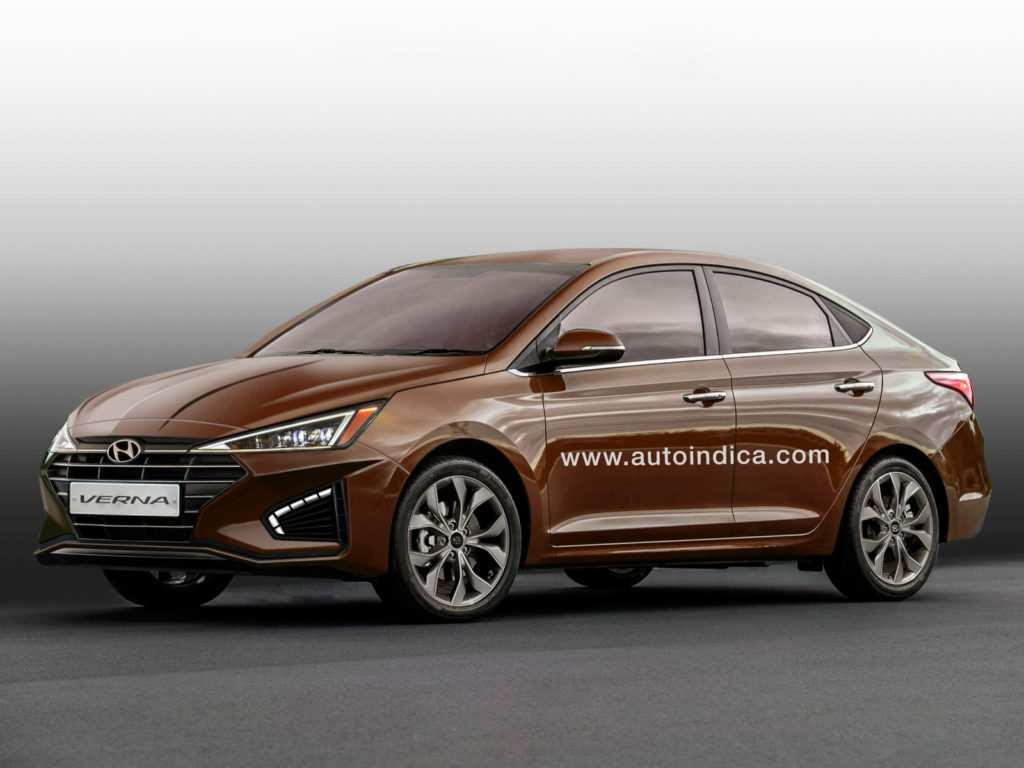 58 A Hyundai Verna Facelift 2020 Overview