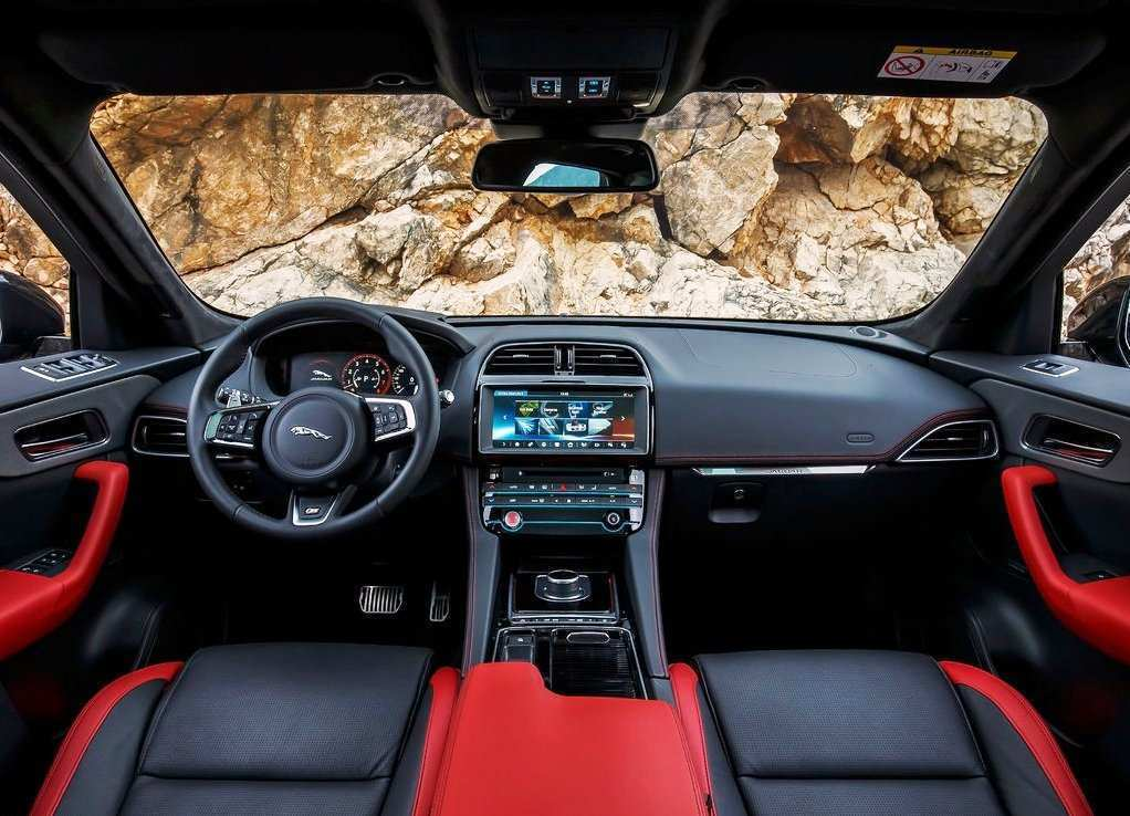 58 A Jaguar F Pace 2019 Interior Engine