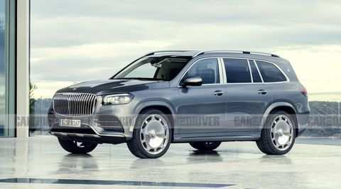58 A Mercedes Maybach Gls 2019 Redesign And Concept