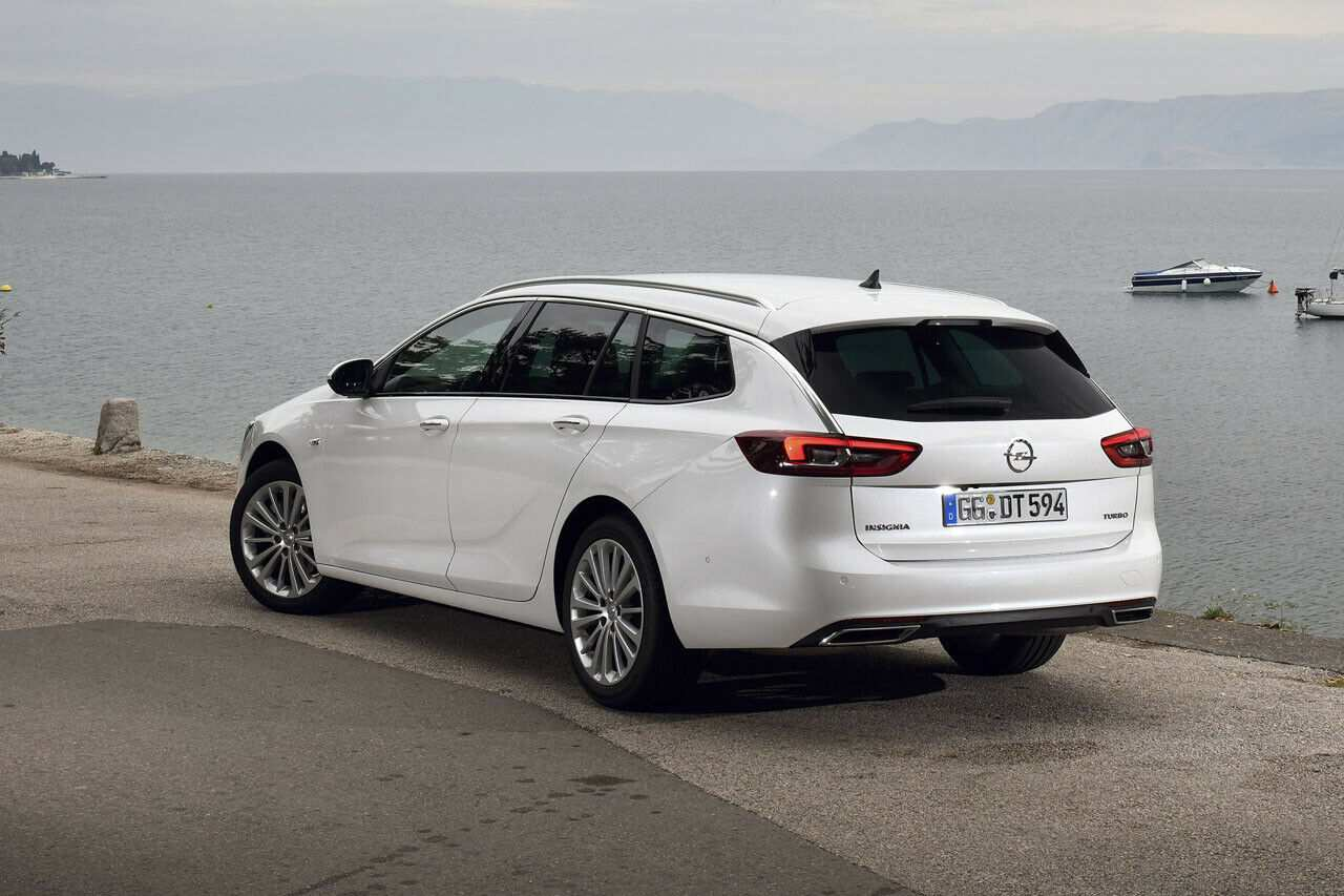 58 A Opel Astra K Sports Tourer 2020 Overview