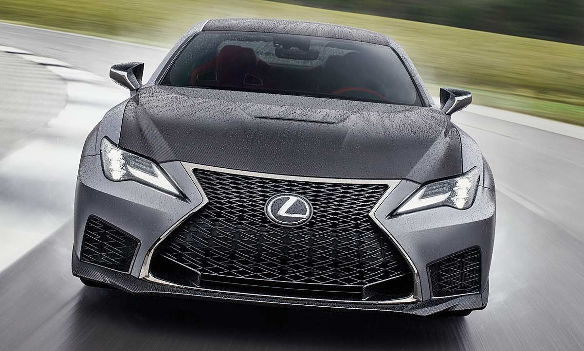58 A Rcf Lexus 2019 Redesign