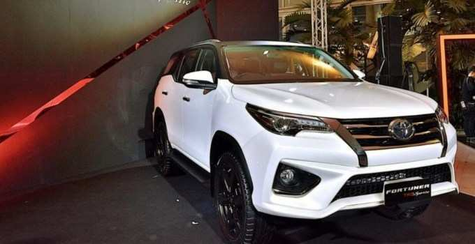 58 A Toyota Fortuner New Model 2020 Configurations
