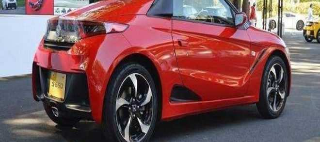 58 All New 2019 Honda S660 New Model And Performance