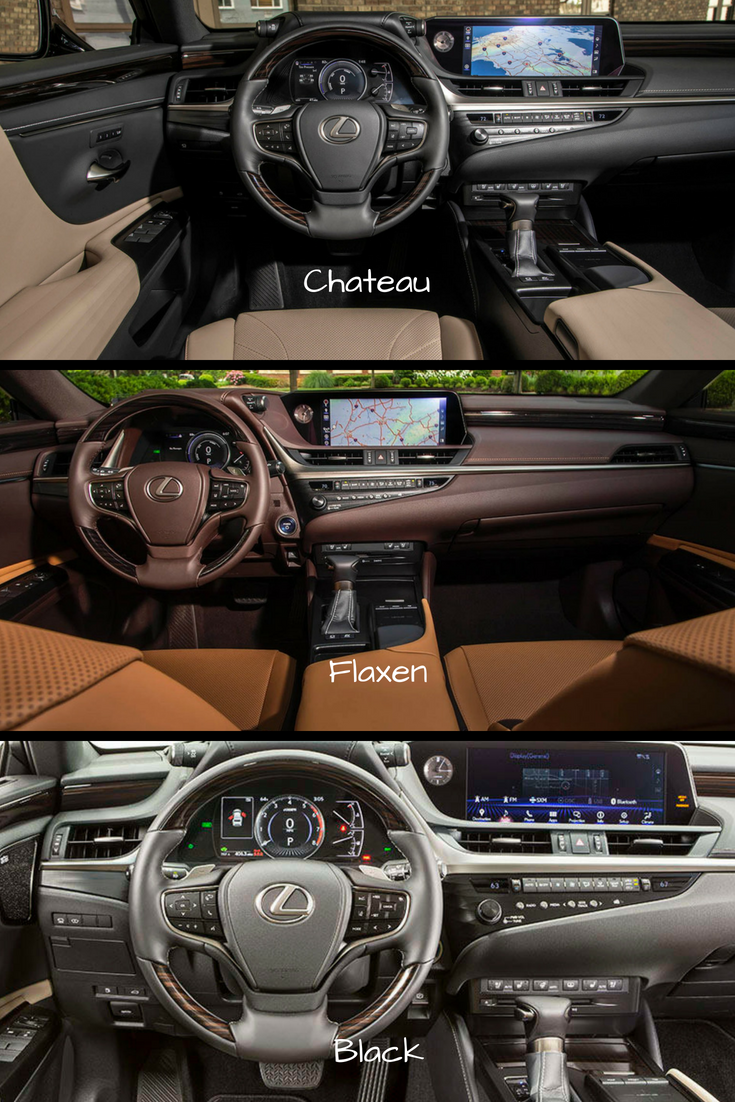 58 All New 2019 Lexus Es 350 Interior New Model And Performance